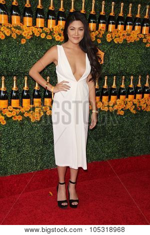 LOS ANGELES - OCT 17:  Jamie Charoen at the Sixth-Annual Veuve Clicquot Polo Classic at the Will Rogers State Historic Park on October 17, 2015 in acific Palisades, CA