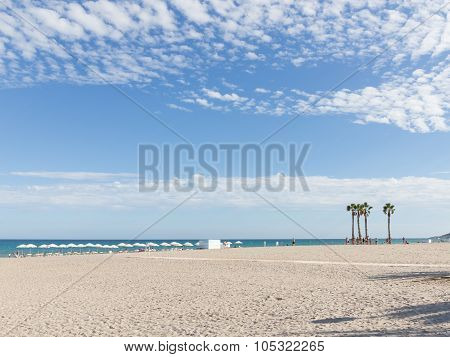 Relaxing On The Beach Alicante, Costa Blanca