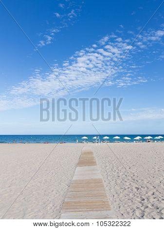 The Path To The Beach Alicante, Costa Blanca