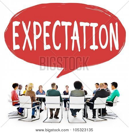 Expectation Business Anticipate Assumption Concept
