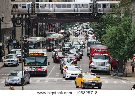 Traffic In Chicago