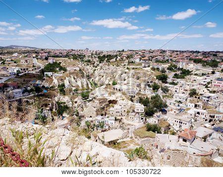 Goreme national park. Landscape at Cappadocia, Turkey