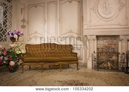 Interior In The Vintage Style