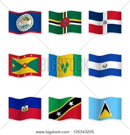 Waving Flags Of Different Countries 10.
