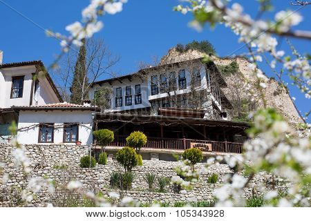 Traditional house in Melnik town, Bulgaria
