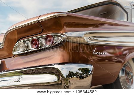Taillight Details Of 1959 Edsel Corsair Classic Car