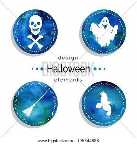 Halloween Vector Set.