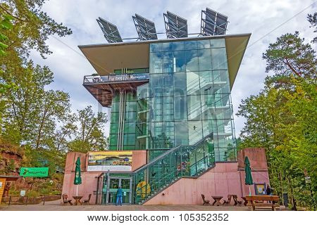 Biosphere House Pfaelzerwald / Nordvogesen