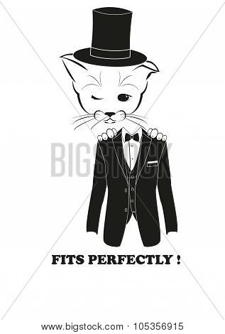 Boso and tuxedo. Fits perfectly