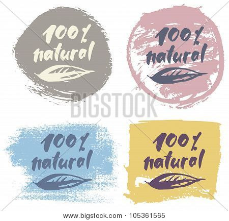 Eco label set