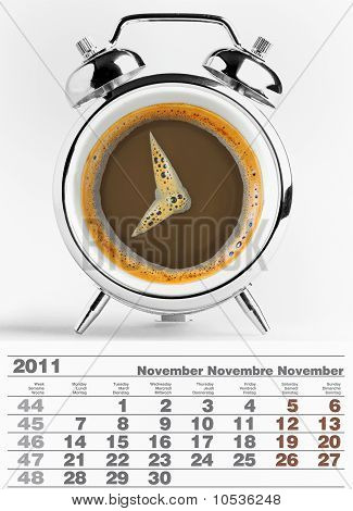 2011 november calendar