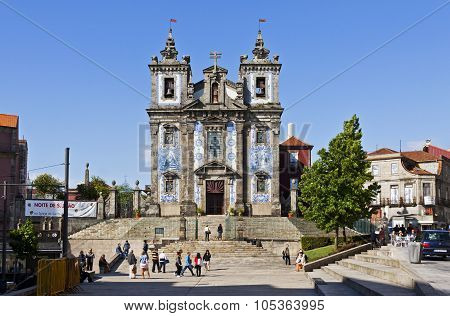 Church Of Saint Ildefonso (igreja De Santo Ildefonso), Porto, Portugal