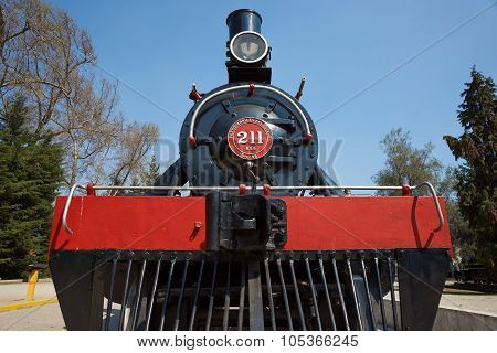 Historic Locomotive Engine