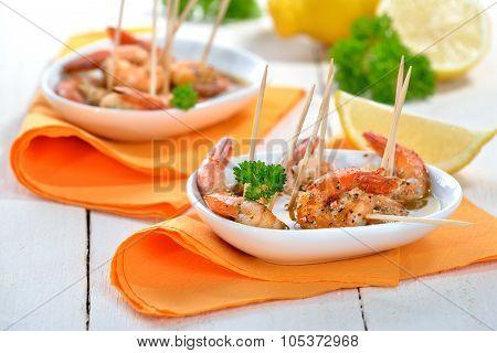 Sherry shrimps