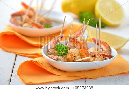 Sherry prawns