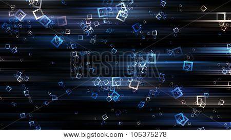Futuristic Square Background Design Illustration With Stipes