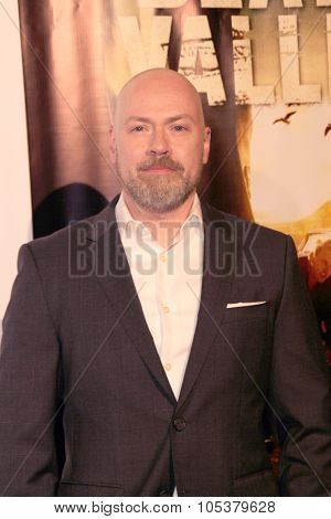 LOS ANGELES- OCT 17: Steven DeKnight arrives at the