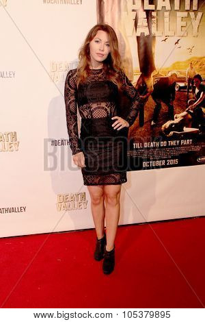 LOS ANGELES- OCT 17: Jaime Slater arrives at the