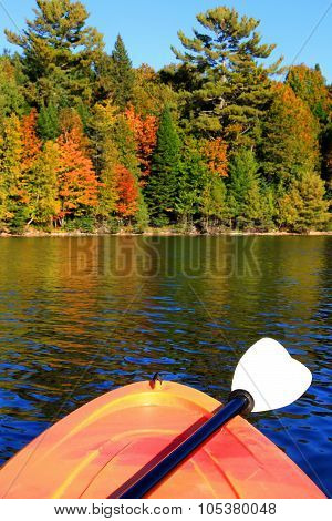 Kayaking In Early Fall