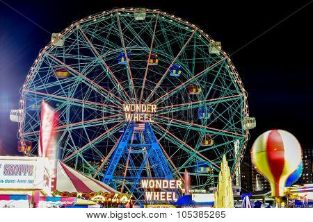 Wonder Wheel - Coney Island Brooklyn Ny