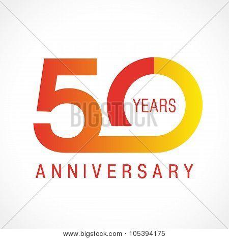 50 anniversary classic logo.