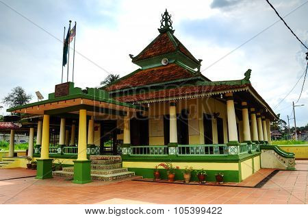Air Barok Mosque at Jasin Malacca, Malaysia
