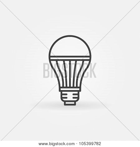 LED lightbulb icon