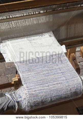 Ancient Weaving Loom