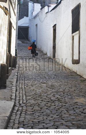 Portuguese Street Seller