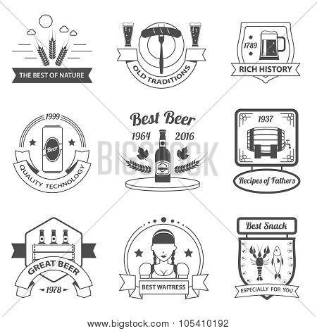 Beer Label Set