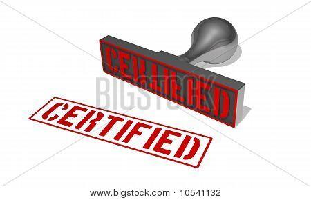 rubberstamp certified