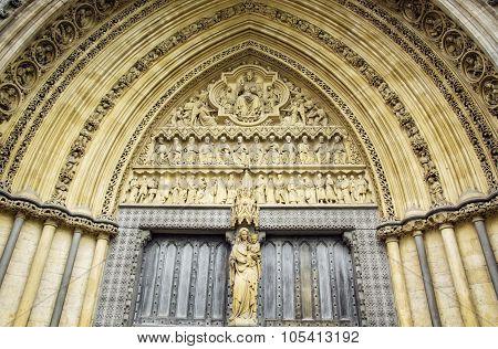 Westminster Abbey Door