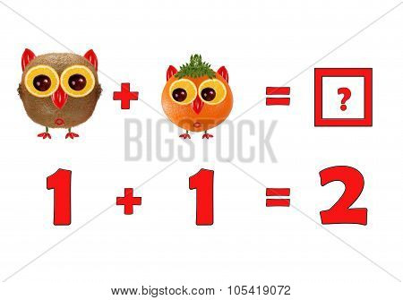 Illustration Of Education Mathematics For Preschool Children