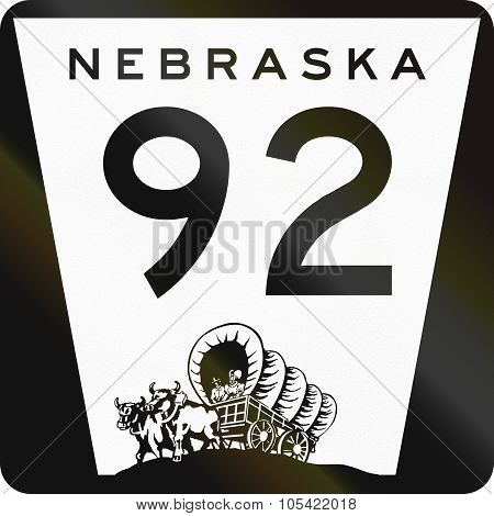 United States Nebraska State Highway