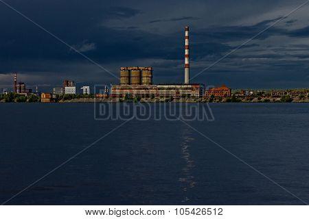 factory complex in berezniki
