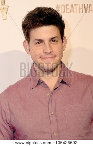 LOS ANGELES- OCT 17: David Blue arrives at the