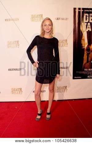 LOS ANGELES- OCT 17: Beatrice Brigitte arrives at the