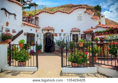 Real Famous Traditional House in Cave, Guadix, Spain, Europe - 13 of May 2013