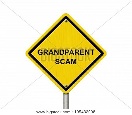 Grandparent Scam Warning Sign