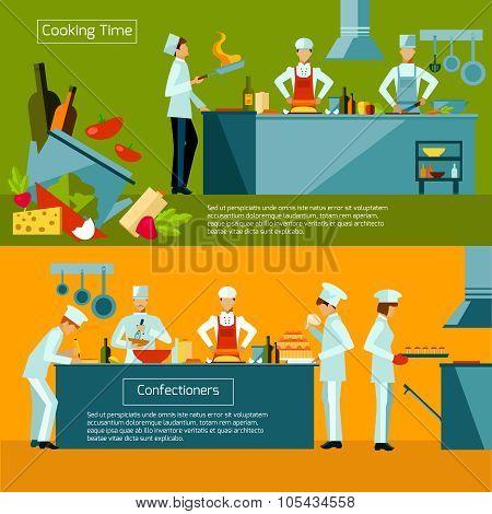 Cooking Banner Set