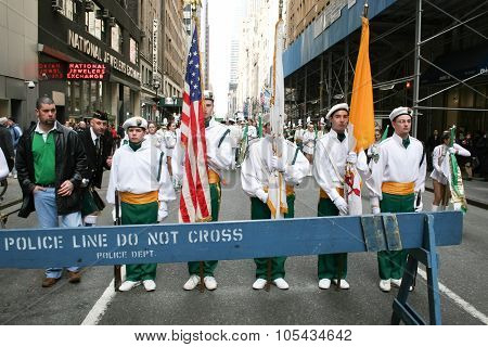Saint Patricks Day Parade March