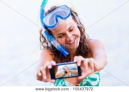 Selfie Before Swimming