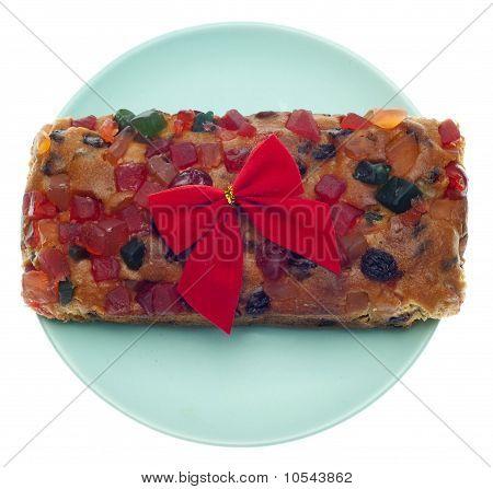 Holiday Fruit Cake Gift