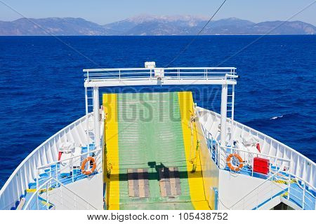 Traveling Ferryboat