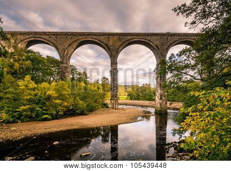Lambley Viaduct Over River South Tyne