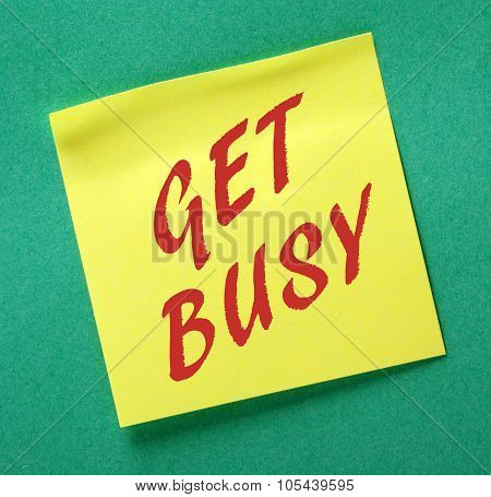 Get Busy Reminder