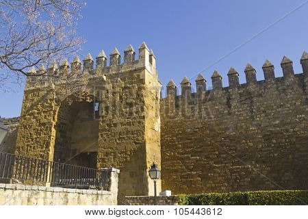 Walls Of Cordoba, Spain.