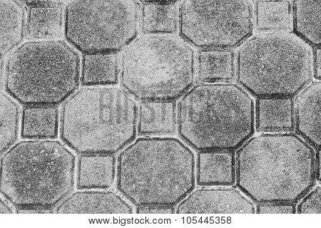 Concrete block pattern