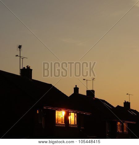 Sunrise in Suburbia