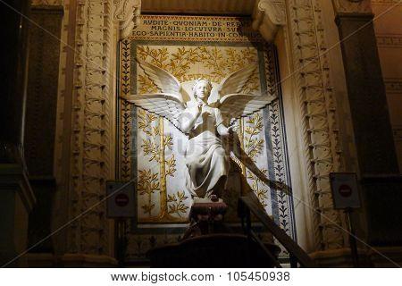 Angel of Basilica of Notre-Dame de Fourvière